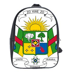 Coat of Arms of The Central African Republic School Bags (XL)