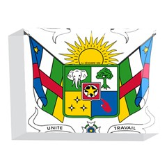 Coat of Arms of The Central African Republic 5 x 7  Acrylic Photo Blocks