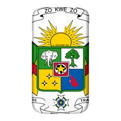Coat of Arms of The Central African Republic Samsung Galaxy S4 Classic Hardshell Case (PC+Silicone)