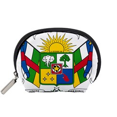 Coat of Arms of The Central African Republic Accessory Pouches (Small)
