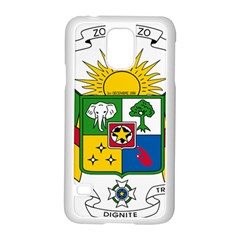 Coat of Arms of The Central African Republic Samsung Galaxy S5 Case (White)