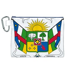 Coat of Arms of The Central African Republic Canvas Cosmetic Bag (XL)