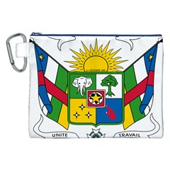 Coat of Arms of The Central African Republic Canvas Cosmetic Bag (XXL)