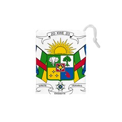Coat of Arms of The Central African Republic Drawstring Pouches (XS)