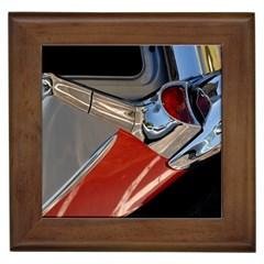 Classic Car Design Vintage Restored Framed Tiles