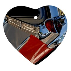 Classic Car Design Vintage Restored Ornament (Heart)