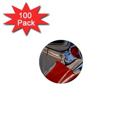 Classic Car Design Vintage Restored 1  Mini Magnets (100 pack)
