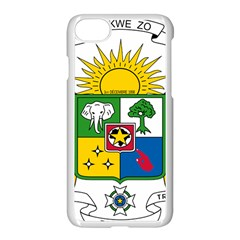 Coat Of Arms Of The Central African Republic Apple Iphone 7 Seamless Case (white)