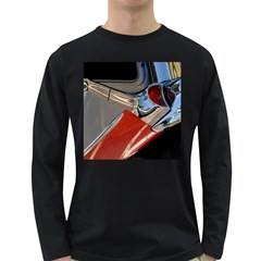 Classic Car Design Vintage Restored Long Sleeve Dark T-Shirts
