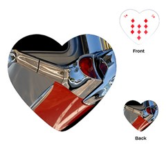 Classic Car Design Vintage Restored Playing Cards (Heart)
