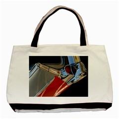 Classic Car Design Vintage Restored Basic Tote Bag