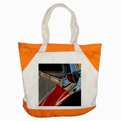 Classic Car Design Vintage Restored Accent Tote Bag