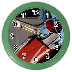 Classic Car Design Vintage Restored Color Wall Clocks