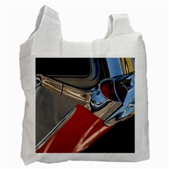 Classic Car Design Vintage Restored Recycle Bag (One Side)