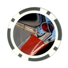 Classic Car Design Vintage Restored Poker Chip Card Guards (10 pack)