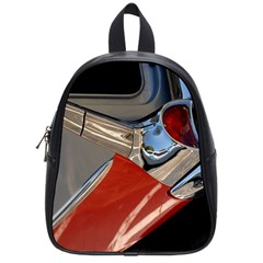 Classic Car Design Vintage Restored School Bags (Small)