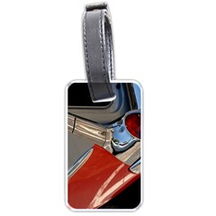 Classic Car Design Vintage Restored Luggage Tags (One Side)