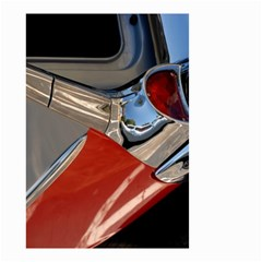 Classic Car Design Vintage Restored Small Garden Flag (Two Sides)