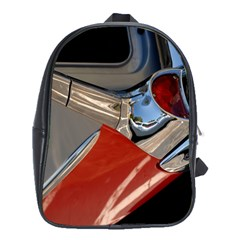 Classic Car Design Vintage Restored School Bags (XL)