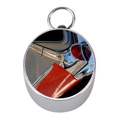 Classic Car Design Vintage Restored Mini Silver Compasses