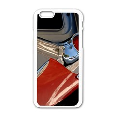 Classic Car Design Vintage Restored Apple iPhone 6/6S White Enamel Case