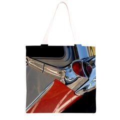 Classic Car Design Vintage Restored Grocery Light Tote Bag