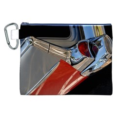 Classic Car Design Vintage Restored Canvas Cosmetic Bag (XXL)