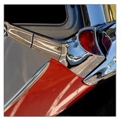 Classic Car Design Vintage Restored Large Satin Scarf (Square)