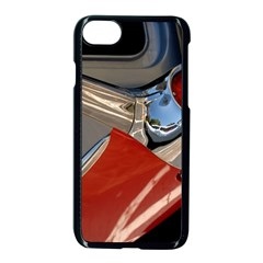Classic Car Design Vintage Restored Apple iPhone 7 Seamless Case (Black)