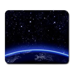 Christmas Xmas Night Pattern Large Mousepads