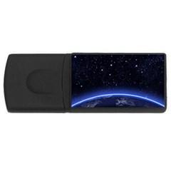 Christmas Xmas Night Pattern USB Flash Drive Rectangular (2 GB)