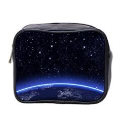 Christmas Xmas Night Pattern Mini Toiletries Bag 2-Side