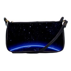 Christmas Xmas Night Pattern Shoulder Clutch Bags