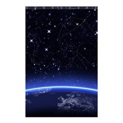 Christmas Xmas Night Pattern Shower Curtain 48  x 72  (Small)