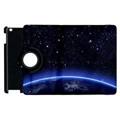 Christmas Xmas Night Pattern Apple iPad 3/4 Flip 360 Case
