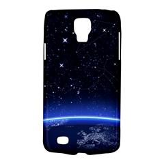 Christmas Xmas Night Pattern Galaxy S4 Active
