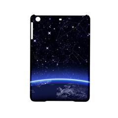 Christmas Xmas Night Pattern iPad Mini 2 Hardshell Cases