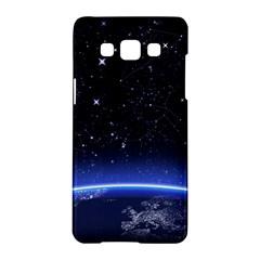 Christmas Xmas Night Pattern Samsung Galaxy A5 Hardshell Case