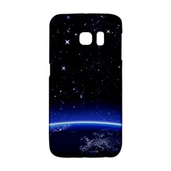 Christmas Xmas Night Pattern Galaxy S6 Edge