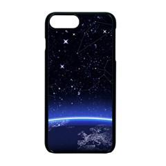 Christmas Xmas Night Pattern Apple iPhone 7 Plus Seamless Case (Black)