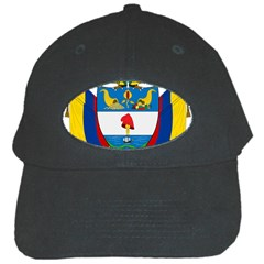 Coat of Arms of Colombia Black Cap