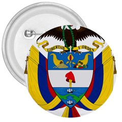Coat of Arms of Colombia 3  Buttons
