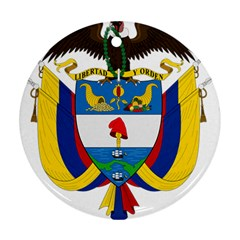 Coat of Arms of Colombia Ornament (Round)
