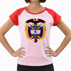 Coat of Arms of Colombia Women s Cap Sleeve T-Shirt