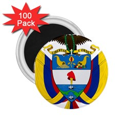 Coat of Arms of Colombia 2.25  Magnets (100 pack)