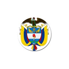 Coat of Arms of Colombia Golf Ball Marker (4 pack)