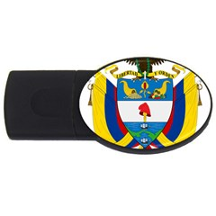 Coat of Arms of Colombia USB Flash Drive Oval (2 GB)