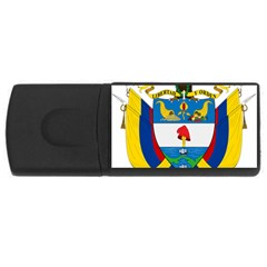 Coat of Arms of Colombia USB Flash Drive Rectangular (2 GB)