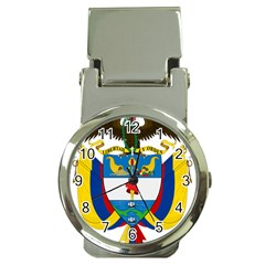 Coat of Arms of Colombia Money Clip Watches
