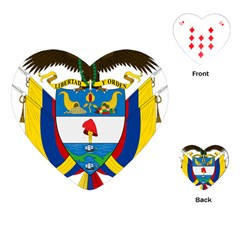 Coat of Arms of Colombia Playing Cards (Heart)